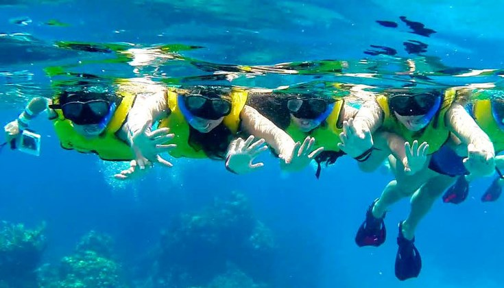 Snorkel Tour By Boat Cozumel Best Excursions